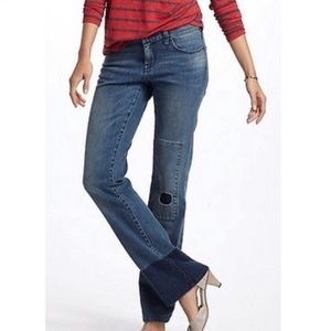 Anthro Holding Horses the Claire Mid-Rise Jeans